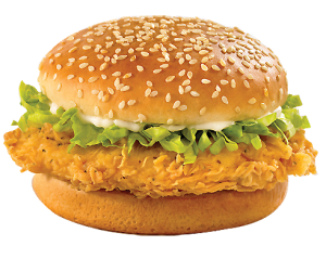 chicken fillet burger image
