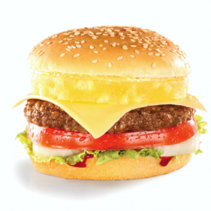 hawaiian burger image