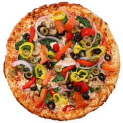 Vegetarian Hot Pizza