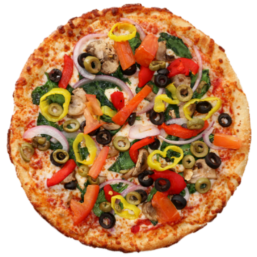 veg hot pizza
